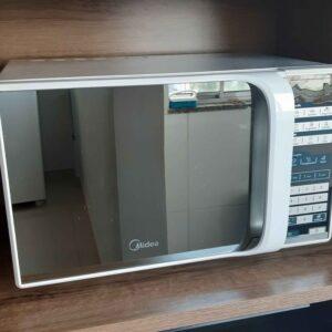Micro-ondas Midea 31 Litros Branco Espelhado Recei...