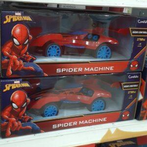 Carrinho de Controle Remoto Marvel Spiderman – Candide