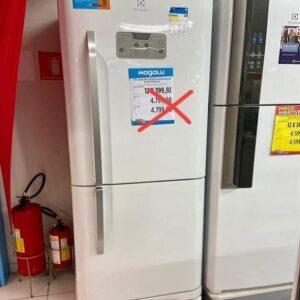 Geladeira/Refrigerador Electrolux Frost Free Inverse Branca ...