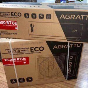 Ar-condicionado Split Agratto 18.000 BTUs Frio ECO TOP &#821...