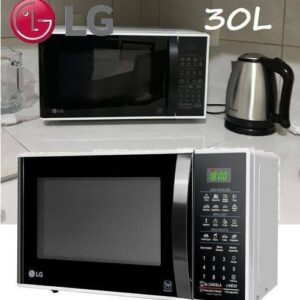 Forno de Micro-ondas LG Easy Clean com Função Ec...