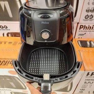 Fritadeira Elétrica sem Óleo/Air Fryer Philco Gourmet Pret...