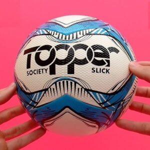 Bola Society Oficial Topper Slick Azul