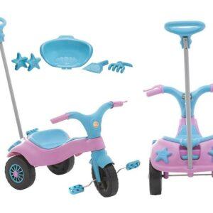 Triciclo Infantil Home Play c/ Empurrador – ...