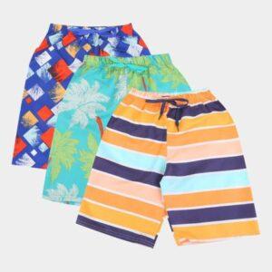 Kit Bermuda Infantil Candy Kids Estampada Masculin...