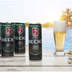 Cerveja Becks Puro Malte Lager 350ml – 8 Uni...
