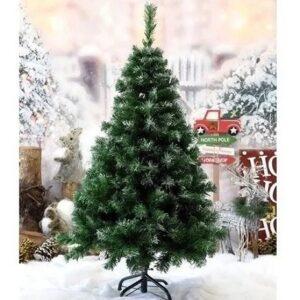 Árvore de Natal Pinheiro verde com base de metal ...
