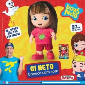 Boneca Gi Neto que Fala 14 frases 27cm – Ros...