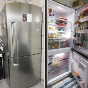 Geladeira/Refrigerador Brastemp Frost Free Evox &#...