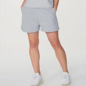 Shorts Feminino Em Moletom Mãe hering – Tam...