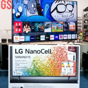 Smart TV LG 50″ 4K NanoCell 3 HDMI 2.0 Intel...