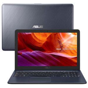 Notebook Asus Core i3-7020U 4GB 256GB SSD Tela Ful...
