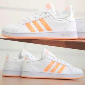 Tênis Adidas Grand Court Base Feminino – Nu...