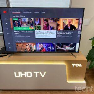 """Smart TV 50"""" UHD 4K LED TCL 50P615 VA 60Hz &#821..."""